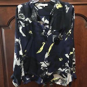 Women's 100% silk blouse